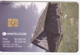 Romania   , Phonecard   , 2005 ,   Lighthouses ,   Used - Lighthouses
