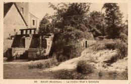 56 - BAUD - 20 - La Rivière L´Evel à Quiipily. - Baud