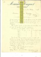 09 - Ariège - SOUEIX - Facture SOUQUET – 1907 - REF 177 - France