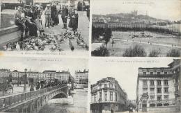 Lyon - Multivues - 4 Vues: Reproductions De Cartes Postales E.C.L. - Other