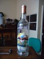 Bouteille Sérigraphiée - Merlot - Flamand Rose - Domaine De La Colombière - 0.75 L - Vide - - Otras Botellas