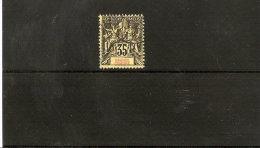 GRANDE COMORE  LOT TIMBRE OBLITERE N ° 17   DE 1900/07 - Used Stamps