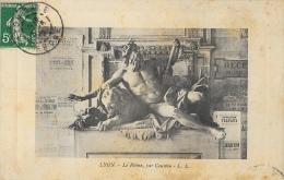 Lyon - Allégorie Le Rhône Par Coustou (à L'Hôtel De Ville) - Edition L.E. - Other