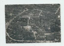 L'Isle-en-Jourdain (32)  :  Vue Aérienne Générale Au Niveau De La Place Cenrale Et Du Bd Circulaire En 1952 (animé) GF. - Otros Municipios