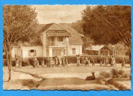 Mans1171, Cameroun, Maison Des Soeurs De Minlaba, GF, Chèvre, Goat, Ziege, Animée, Circulée 1953 - Cameroon