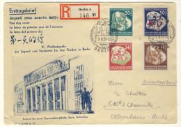DDR Michel No. 289 - 292 FDC