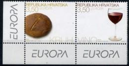 CROATIE CROATIA - EUROPA CEPT 2005 -YVERT N°673/674  - Neufs / Mint - LUXE ** - Europa-CEPT