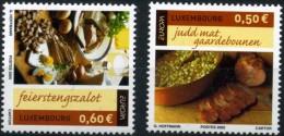 LUXEMBOURG - EUROPA CEPT 2005 -YVERT N°1621 Et 1622 ** - Neufs / Mint - LUXE ** - Europa-CEPT