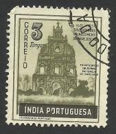 Portuguese India, 3 T. 1951, Sc # 512, Used - Portuguese India