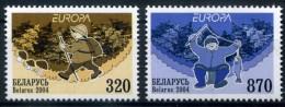 BIELORUSSIE - EUROPA CEPT 2004 -YVERT N°561 Et 562- Neufs / Mint - LUXE ** - 2004