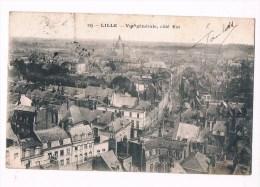 27259 ( 2 Scans )  Lille Vue Generale Cote Est - Lille