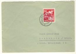 DDR Michel Nr. 324 auf Brief EF