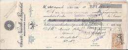 12 . AVEYRON . ROQUEFORT . ETS STE NOUVELLE . 1925 .   FROMAGE - Bills Of Exchange