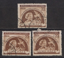 Rumänien; 1954; Michel 1473 O; Yv.1346; Tag Des Kindes - 1948-.... Republiken