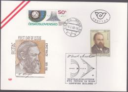 AUTRICHE : FDC : Ernst Mach Physicien Et Philosophe - FDC