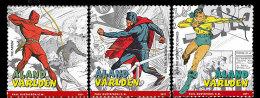 Aland - Postfris / MNH - Booklet Superhelden 2011 - Aland