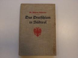 Das Deutschtum In Südtirol !!! 1932 , 218 Seite,  Mit Karte Der Umgangssprachen In Südtirol , Dr. W. Rohmeder , Tirol !! - 5. Zeit Der Weltkriege