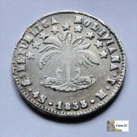 Bolivia - 4 Soles - 1855 - Bolivia