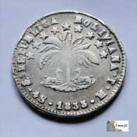 Bolivia - 4 Soles - 1855 - Bolivië