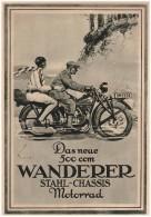 Original Werbung - 1929 - WANDERER 500ccm , Große Seite , Werk In Schönau B. Chemnitz , Motorrad , Motorräder !!! - Motorräder