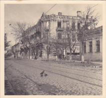 Moldova - Chisinau - Strada Pushkin - Cladiri Bombardate - Foto 95x85mm - Photographie