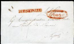 Ponza 00595b - Piego Del 30 Maggio 1853 (data Del Testo). - Italia