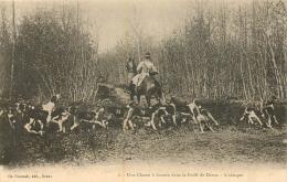 CHASSE A COURRE DANS LA FORET DE DREUX L'ATTAQUE - Chasse