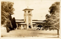 Veterans Home, Gen.Mess Building, Real Photo Postcard - Johnson City