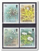 Sint Helena 1987, Postfris MNH, Flowers - Sint-Helena