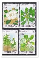 Sint Helena 1989, Postfris MNH, Flowers - Sint-Helena