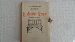(Meubles, Art R�gional, D�coration...) - 1942 -  Le MOBILIER BASQUE, par louis COLAS (grandes planches en phototypie)