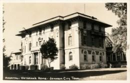 Hospital, Veterans Home, Real Photo Postcard - Johnson City