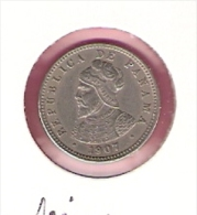 PANAMA 1/2 CENTESIMO 1907 KM6 - Panama