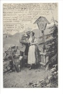 11583 -  Couple Tyrolien  Le Baiser Par Fec.Ch. Scolik Wien - Couples