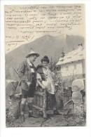 11584 -  Couple Tyrolien  Chasseur Par Fec.Ch. Scolik Wien - Couples