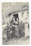11588 -  Couple Tyrolien Au Revoir Du Chaseur  Par Fec.Ch. Scolik Wien - Paare