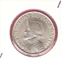 PANAMA 1/10 BALBOA 1962 SILVER KM10.2 - Panama