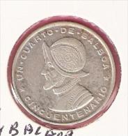 PANAMA 1/4 BALBOA 1953 SILVER KM19 - Panama