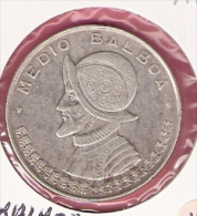 PANAMA 1/2 BALBOA 1961 SILVER KM26 - Panama
