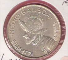 PANAMA 1/2 BALBOA 1968 SILVER KM12A.1 - Panama