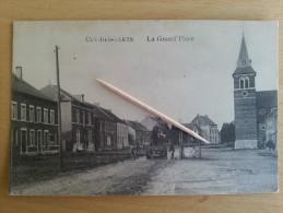 CUL DES SARTS _ La Grand Place ( Travailleurs ) - Cul-des-Sarts