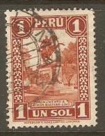 PERU    Scott  # 317 VF USED - Peru