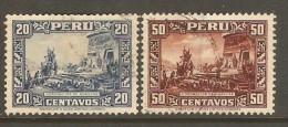 PERU    Scott  # 319-23 VF USED - Peru