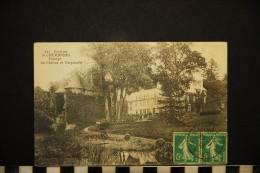 CP, 50, Environs De CHERBOURG, N° 427, Paysage Au Château De Nacqueville, Voyagé En 1916 - Non Classés