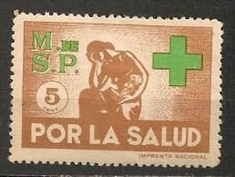 Timbres - Amérique - Uruguay -  POR LA SALUD - Ministerio De La Salud  Publica - 5  Centesimos - - Uruguay