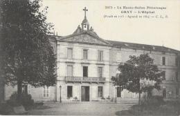 La Haute-Saône Pittoresque - Gray - L´Hôpital Fondé En 1715 - Carte C.L.B. N°2072 - Santé