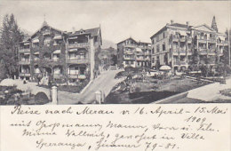 Obermais - Meran - Pension Von Weinhart - 1909      (150201) - Merano
