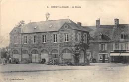 CPA 50 CERISY LA SALLE LA MAIRIE (cliché Pas Courant - France