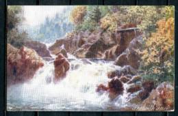 """CPA Signierte Color Raphael Tuck & Sons Künstlerkarte Nr.7287aus 1906 """"Skelwith Force,""""1 AK Used,bef. - Tuck, Raphael"""