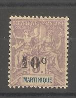 Martinique -  5 F Groupe Surchargé  10 C _
